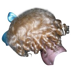 """13"""" Blond Mohair Toddler wig"""