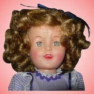 """12"""" Vinyl Shirley Temple with Trousseau"""