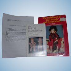 2 Items On Doll Repair; book & video tape