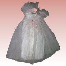 Vintage Pale pink Prom Dress for HP or Composition dolls