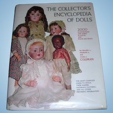 The Collector's Encyclopedia of dolls; Vol. I Elizabeth & Evelyn Coleman Free shipping