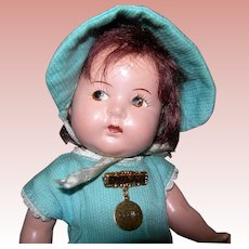 "8"" Dionne Quint Toddler Composition Madame Alexander Cecile"