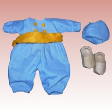 Dutch Boy outfit For Ginny with Wooden shoes