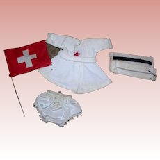Ginny Nurse outfit Red Cross