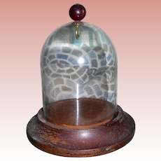 Small Glass dome for doll or ornament