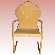 Vintage Metal Chair for dolls