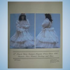 """12"""" French China Summer lingerie Dress by Louise Hedrick"""
