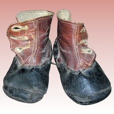 Antigue Baby Boots for Dolls