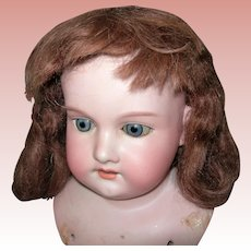 Vintage Auburn Mohair for Mama Doll/ Composition doll