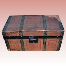 Antique Trunk TLC