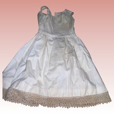 Petticoat and Bloomers combination with Bustle