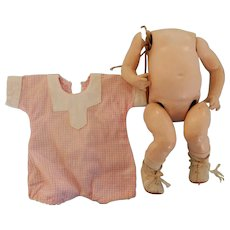 8'' Heavy Baby Body with Romper and Shoes
