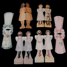 McLaughlin's Advertising Doll Cards and Dresses