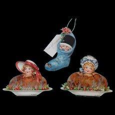 Ernest Nister Pudding girls plus Stocking