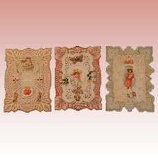 3 Valentine Cards with Front Panels that Raise