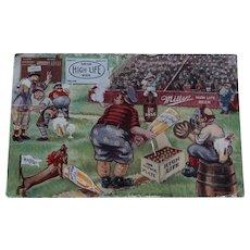Miller High Life Postcard 1913