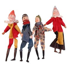 Punch and Judy Hand Puppets with two Characters