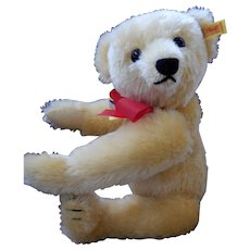 Large Steiff Golden Teddy [Roosevelt]1 with Hump