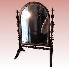 12 Inch Miniature Tilt Dressing Mirror with Inlay