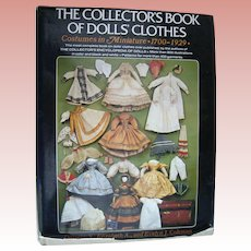 'The Collectors Book of Doll Clothes'