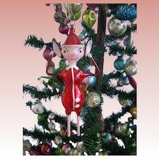 Vintage Christmas Glass Italian Pinochio