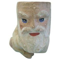 Antique German Santa Head for Old World Santa