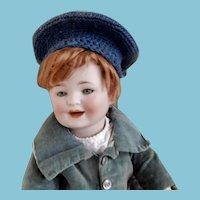 Rare Smiling German  Toddler by Porzellanfabrik Mengergereut
