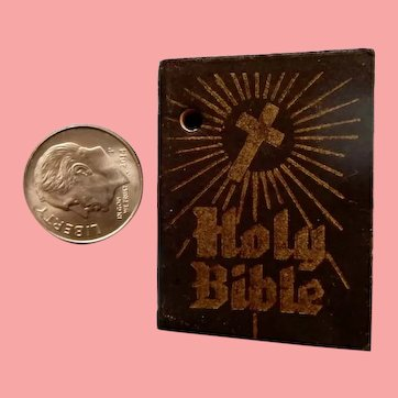 Doll Size Miniature Bible to hang from the Waist