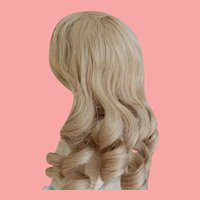 Vintage Blonde HH French Wig 9-10 Inch HC
