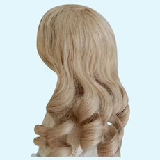 Vintage Blonde HH French Wig 9-10 Inch HC
