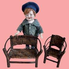 Vintage Hand Made Doll Furniture