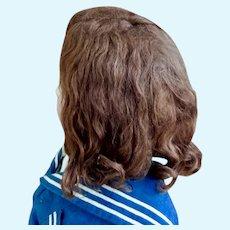 Auburn Mohair Wig/14 Inch HC