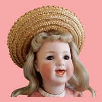 Heubach 5636 Character Cabinet Size Doll