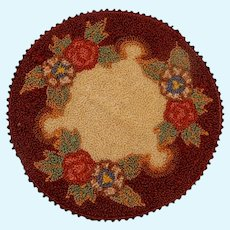Dollhouse/Room Box Round Rug