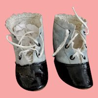 Two Tone  3.75 Inch Doll Shoes