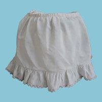 Hand Stitched Slip/Panty for 50's Doll with Vitton Label