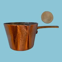 Fine Copper Pot for a Miniature Stove, Dolly or Kitchen