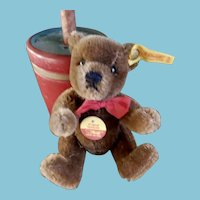 5.25 Inch Steiff  5 way Jointed Bear