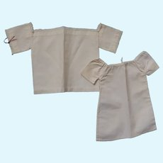 Two Camisoles for chinas or Whole Slip for doll