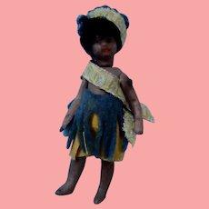 Sweet Liliputian Native Girl Doll