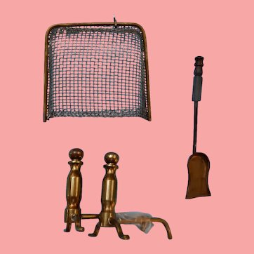 Dollhouse Fireplace Accessories