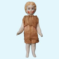 Glazed Miniature Blonde Frozen Charlotte