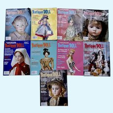 Nine Issues Antique Doll Collector 2019