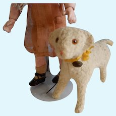 4.5 Inch Vintage Sheep for Doll or Christmas Display