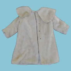 Vintage Mohair Coat for Large Doll or Santa Robe