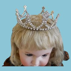 High Quality Costume Diamond Tiara/Crown for Dolly
