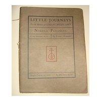 Roycroft Little Journeys Great Musicians-Nicola Paganini By Elbert Hubbard