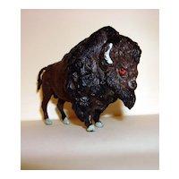 Britain Ltd England Hard Plastic Bison Toy