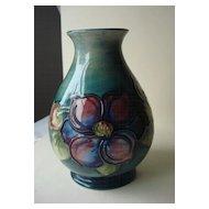 Moorcroft Clematis Vase-England