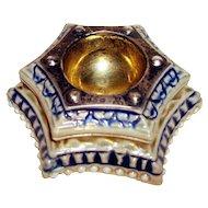 Victorian Porcelain-Sterling Stamp Wetter-London 1874